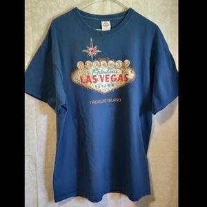 📚 Mint Collectible Las Vegas Treasure Island Tee